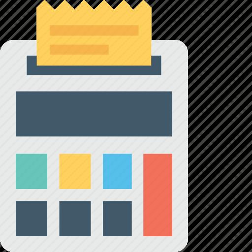bill, bill slip, financial, invoice, receipt icon