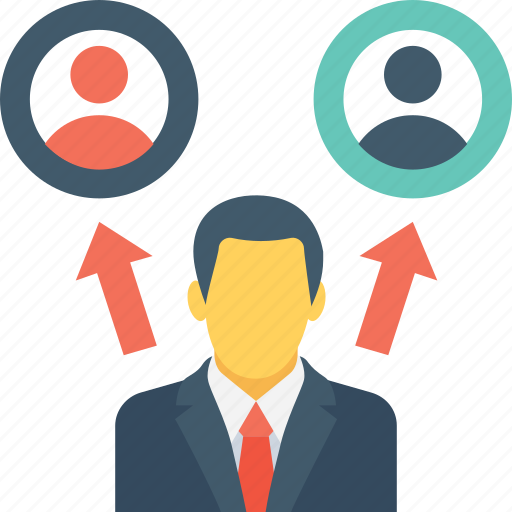 affiliate, avatar, client, marketing, users icon