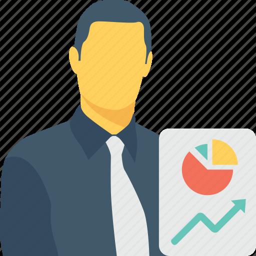 chart, diagram, graph, pie, presentation icon