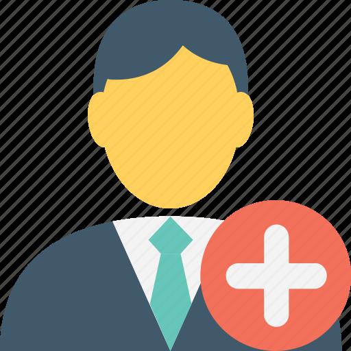 avatar, businessman, client, male, promotion icon