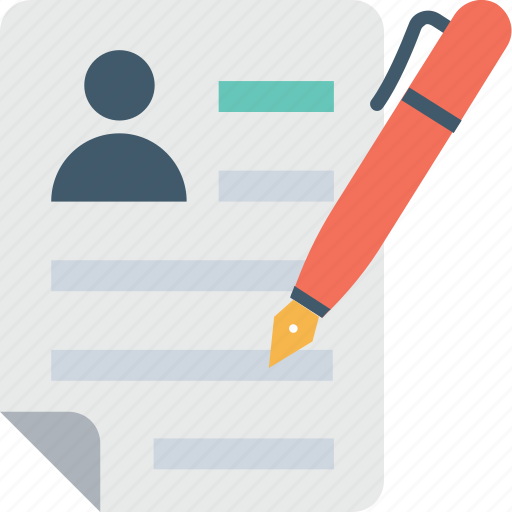 cv, editing, pencil, resume writing, writing icon