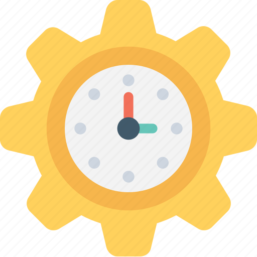 cog, cogwheel, schedule, time, time management icon