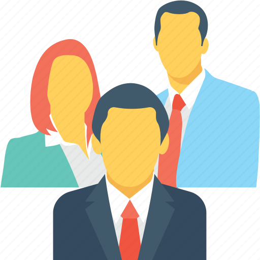 clients, group, team, users, workers icon