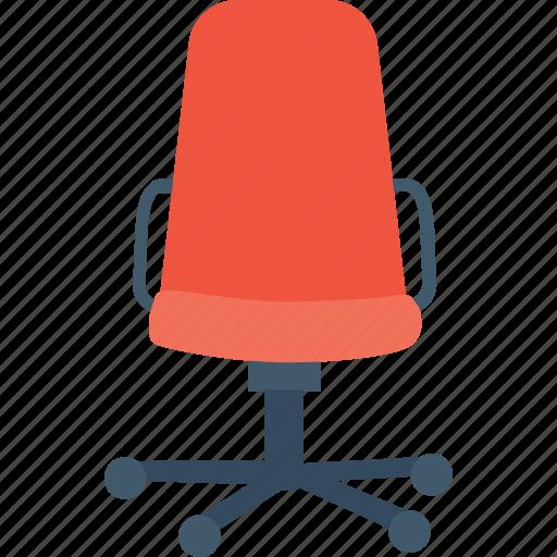 chair, furniture, revolving, seat, swivel icon