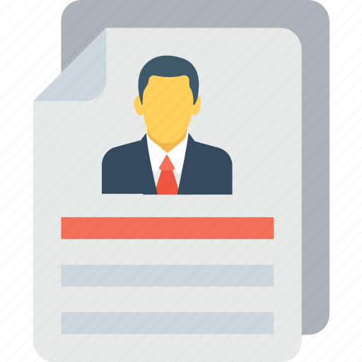 application, cv, job, profile, resume icon