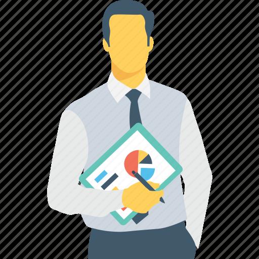 chart, entrepreneur, graph, pie, strategy icon