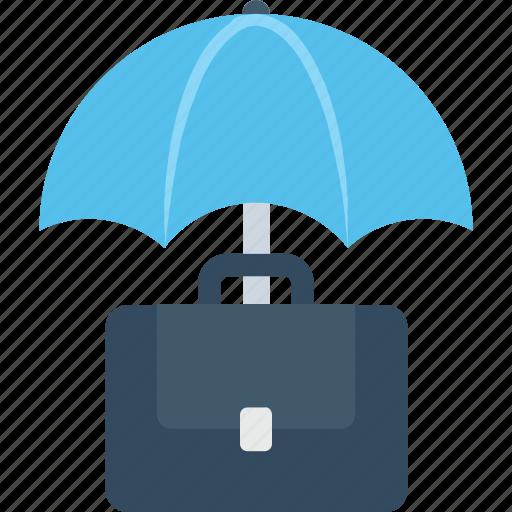 bag, briefcase, case, insurance, office icon