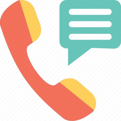 call, chat, help, phone, receiver icon