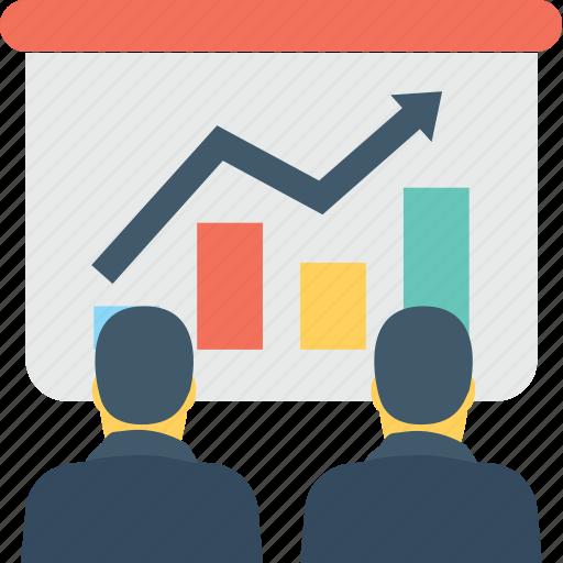 bar graph, chart, diagram, graph, presentation icon