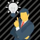 bulb, business, creative, idea, plan