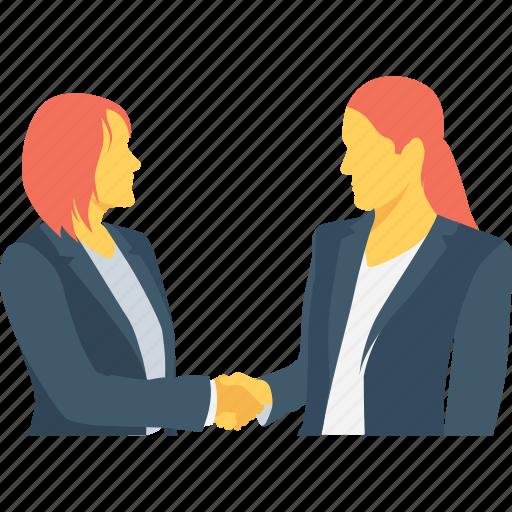 business, deal, partner, partnership, shake hand icon