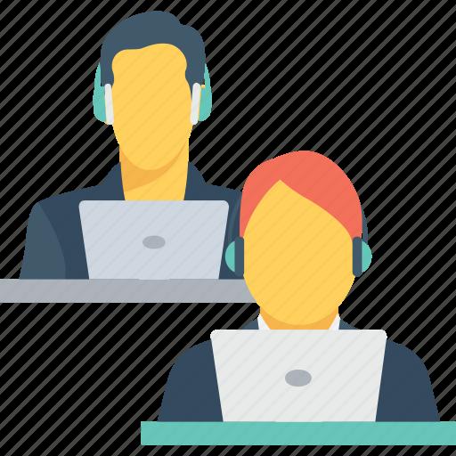 avatar, customer representative, developer, employee, working icon
