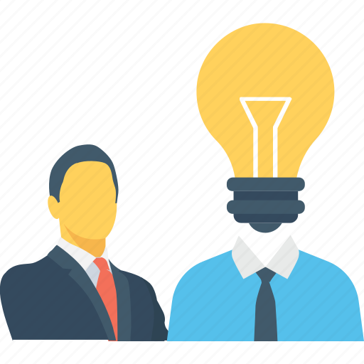bulb, idea, intelligent, mind, plan icon