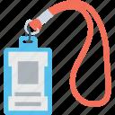 employee card, id, id card, identity, identity card icon