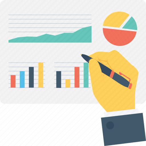 bar, chart, graph, pie, report icon