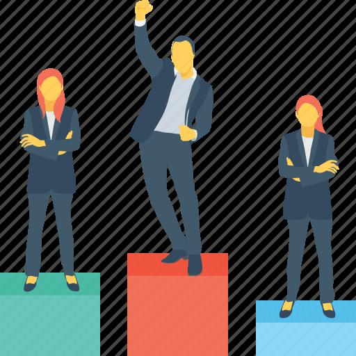 lectern, podium, position, stage, winning icon