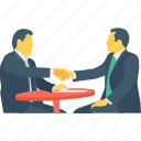 business, conference, discussion, interview, meeting icon