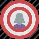 employee, goals, hr, human, resources icon