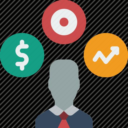 hr, human, multi, resources, tasking icon