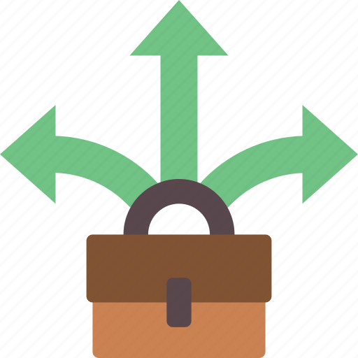 business, direction, hr, human, resources icon