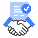 agreement, contract, deal, ducument, employee, partner, recruitment icon