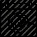 goals, hr, human, resources, scheduled icon