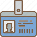 badge, hr, human, id, resources icon
