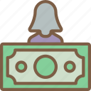 finance, hr, human, oversee, resources icon