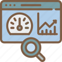 analysis, hr, human, performance, resources icon