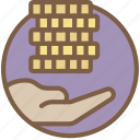 compensation, give, hr, human, resources icon