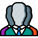 hr, human, resources, staff icon