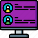 hr, human, recruitment, resources icon
