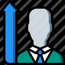 hr, human, job, promotion, resources icon