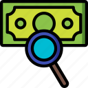 audit, financial, hr, human, resources icon