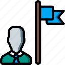 hr, human, leadership, resources icon