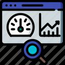 analysis, hr, human, performance, resources icon