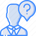 candidate, hr, human, questions, resources icon
