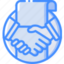 accept, hr, human, offer, resources icon