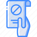 hr, human, letter, resignation, resources icon