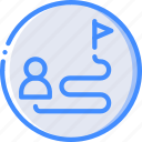 career, hr, human, plan, resources icon