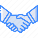 hand, hr, human, resources, shake icon