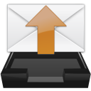 inbox, mail, outbox, read, unread icon