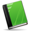 book, green icon