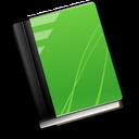 book, green