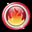 fire, hot, nero icon
