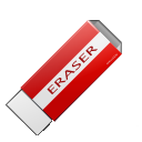 clean, delete, eraser icon
