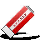 eraser, clean, delete