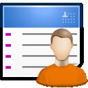 contact, list, user, user chart