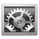 control panel, settings, system icon