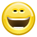 funny, laugh, smile icon